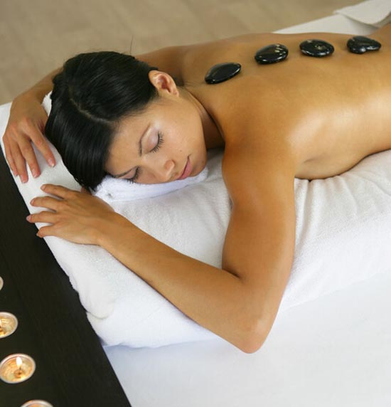 Hot Stone Therapy in West Sussex